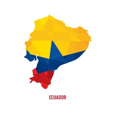 Map Of Ecuador vector