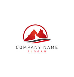 Red canyon logo vector