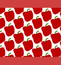 seamless pattern of peppers vector image