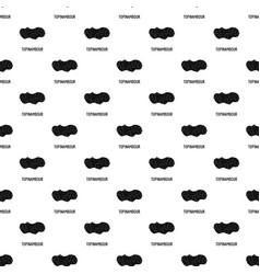 topinambour pattern seamless vector image