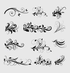 Vintage Olive Design Elements vector
