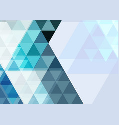 modern abstract triangle background geometric vector image vector image