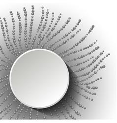 abstract header design vector image