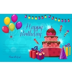 Birthday Party Invitation vector