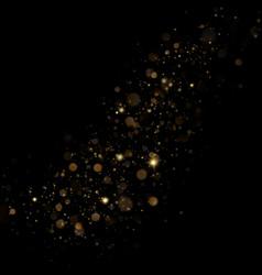 Christmas stardust trail effect eps 10 vector
