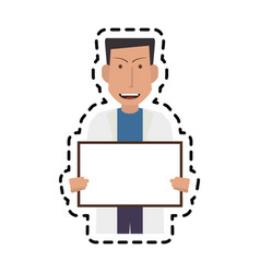 Doctor icon image vector