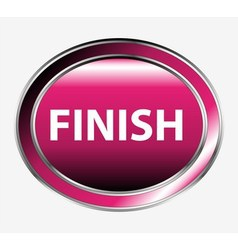 Finish button vector