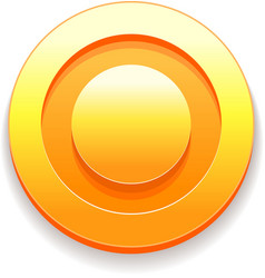 Gold Coins icon from game vector