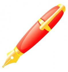 Ink pen vector