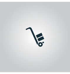 Manual loader - icon vector