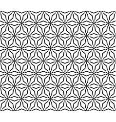 Monochrome seamless pattern triangular lattice vector