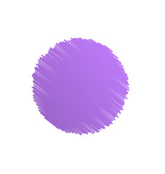 Purple abstract circle scribble background vector