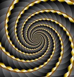 Spiral background vector