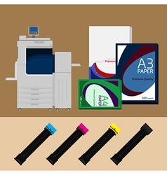 Digital print vector image