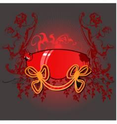 cupid banner vector image vector image