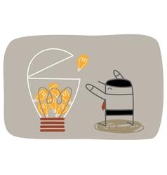 Idea Collector vector image vector image