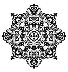 pattern black vector image vector image
