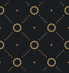 baroque seamless background vector image