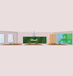 digital abstract digital classroom vector image