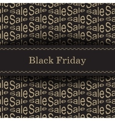Black Friday Bakcground vector image