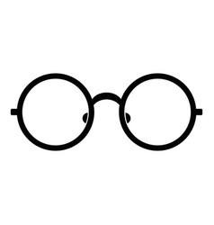 Children eyeglasses icon simple style vector
