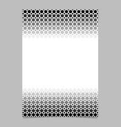 monochrome abstract halftone geometrical circle vector image