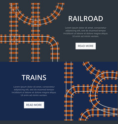 railroad with different padding vector image