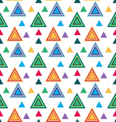 Seamless Triangle pattern Seamless vector image
