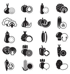 Vegetables Simple vector image