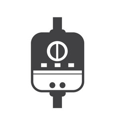 water heater icon vector image