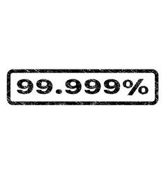 99999 percent watermark stamp vector