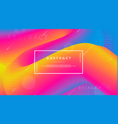 abstract gradient wave background with a vector image