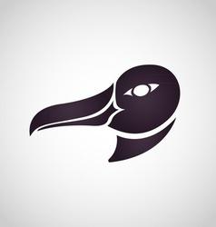 Albatross logo vector image