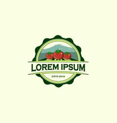farm design template vector image