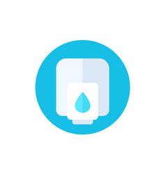 Hand sanitizer dispenser with antibacterial gel vector