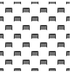 hockey gate pattern seamless vector image