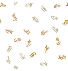pattern tree branches on white background twig vector image vector image