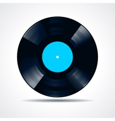 vinyl disc vector image vector image