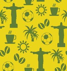 brazil patern1 vector image