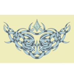 Drawing for a tattoo vector image