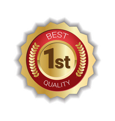 best quality mark sticker icon product sign seal vector image vector image