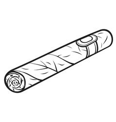 Cuban cigar vector