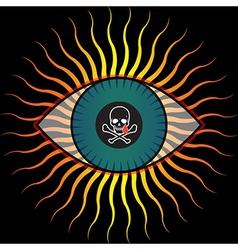 Evil Eye vector image vector image