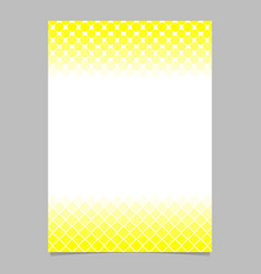Geometrical abstract halftone pattern brochure vector