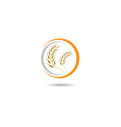 wheat symbol vector image
