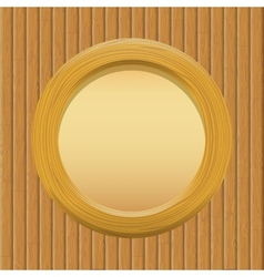 Wooden Framework with Paper on a Wall vector