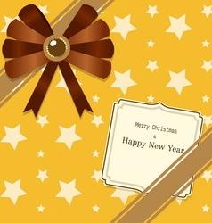 Beautiful Present Box vector image vector image