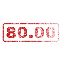 8000 rubber stamp vector image