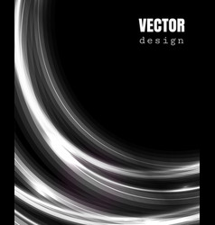 abstract rectangle background with shiny lines vector image