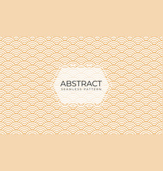 abstract seamless pattern in art deco style vector image